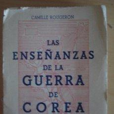 Militaria: LAS ENSEÑANZAS DE LA GUERRA DE COREA. Lote 38053032