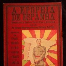 Militaria: A EPOPEIA DE ESPANHA. 1936 1939 GLORIOSO MOVIMIENTO NACIONAL. 150 PAG. Lote 38508662