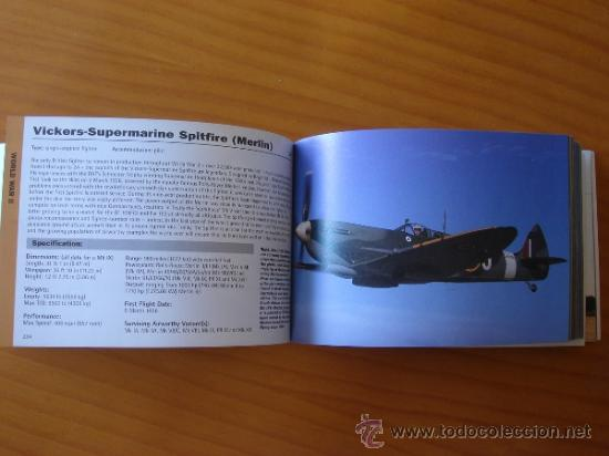 Militaria: JANE'S HISTORIC MILITARY AIRCRAFT RECOGNITION GUIDE AVIACIÓN EJÉRCITO DEL AIRE SAETA BOEING MUSTANG - Foto 4 - 38487600