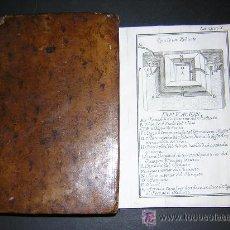 1770 - CIENCIA DE PUESTOS MILITARES O TRATADO DE FORTIFICACIONES DE CAMPAÑA - 10 LAMINAS PLEGADAS