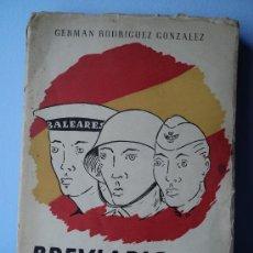 Militaria: BREVIARIO DEL SOLDADO, POR GERMÁN RODRIGUEZ GONZALEZ. 1954.. Lote 39024522