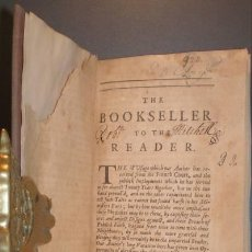 Militaria: THE MEMOIRS OF THE MARQUESS OF LANGALLERIE. 1708. Lote 39084995