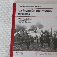 Militaria: OSPREY LA INVASION DE POLONIA : BLITZKRIEG (RBA). Lote 39179708