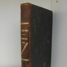 Militaria: MANUAL DEL CONTRAMAESTRE. JUAN CERVERA VALDERRAMA. TENIENTE DE NAVIO. 1908. Lote 39285824