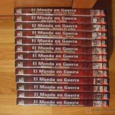 Militaria: EL MUNDO EN GUERRA, 13 DVD, SAV, LEER. Lote 39304474