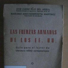 Militaria: LA FUERZAS ARMADAS DE LOS EEUU 1953. Lote 39341535
