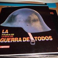 Militaria: LA GUERRA DE TODOS COLECCION COMPLETA 24 FASCICULOS EL PERIODICO 1978BUEN ESTADO. Lote 39351534