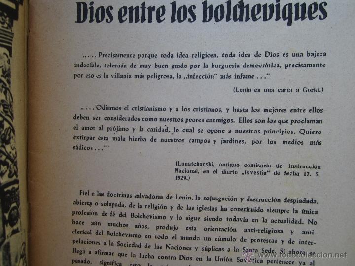Militaria: DIOS ENTRE LOS BOLCHEVIQUES , 1941 - Foto 3 - 39353789
