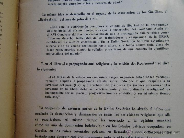 Militaria: DIOS ENTRE LOS BOLCHEVIQUES , 1941 - Foto 4 - 39353789