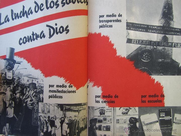 Militaria: DIOS ENTRE LOS BOLCHEVIQUES , 1941 - Foto 10 - 39353789