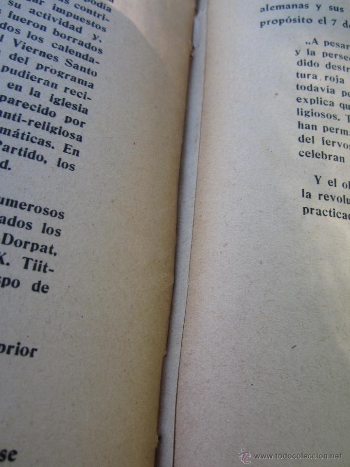 Militaria: DIOS ENTRE LOS BOLCHEVIQUES , 1941 - Foto 20 - 39353789