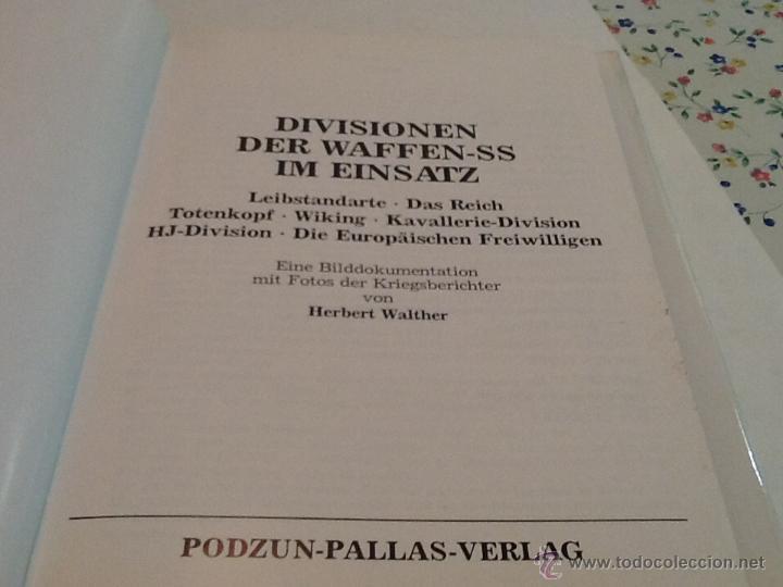 Militaria: Divisionen der waffen-ss Im einsatz de Herbert walther - Foto 3 - 39454400