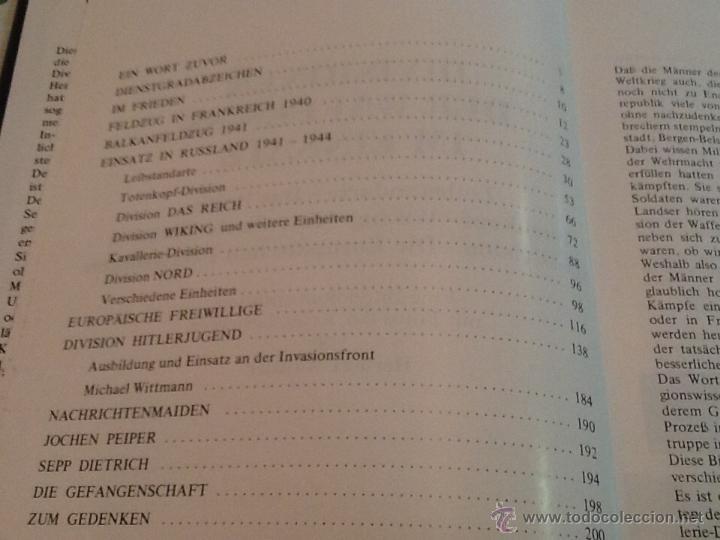 Militaria: Divisionen der waffen-ss Im einsatz de Herbert walther - Foto 6 - 39454400