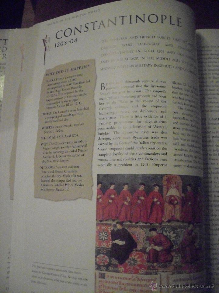 Militaria: BATTLES OF THE MEDIEVAL WORLD 1000-1500, (INGLES), Batallas en el mundo medieval 1000-1500 - Foto 4 - 39534617