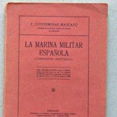 Militaria: LA MARINA MILITAR ESPAÑOLA 1930. Lote 39750721