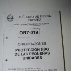 Militaria - Orientaciones. Protección NBQ de las pequeñas unidades. Manual - 39925312