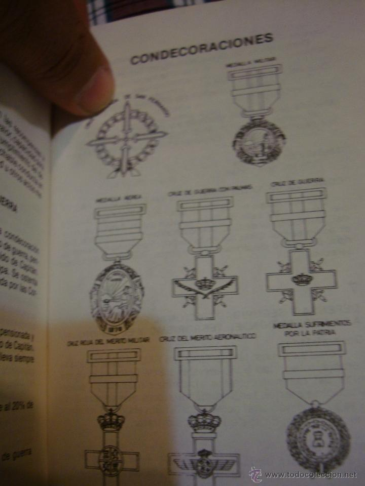 Militaria: LIBRO MANUAL DEL SOLDADO DE AVIACION 1976 - Foto 3 - 39977875
