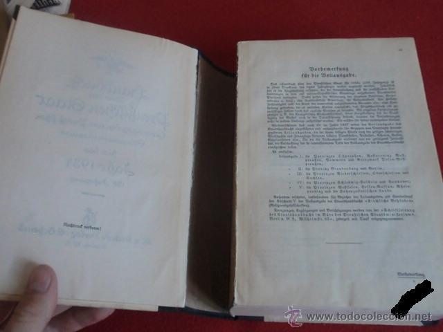 Militaria: LIBRO SECRETARIA DE ESTADO CON FIRMA AUTENTICA DE HERMANN GORING - Foto 5 - 39992344