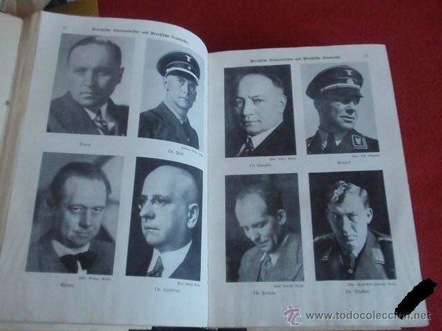 Militaria: LIBRO SECRETARIA DE ESTADO CON FIRMA AUTENTICA DE HERMANN GORING - Foto 7 - 39992344