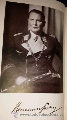 Militaria: LIBRO SECRETARIA DE ESTADO CON FIRMA AUTENTICA DE HERMANN GORING - Foto 9 - 39992344