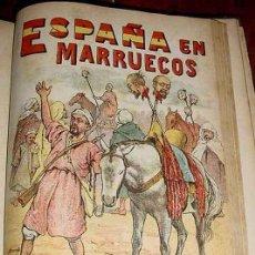 Militaria: ESPAÑA EN MARRUECOS, CRONICA DE LA CAMPAÑA DE 1909 - RIERA, AUGUSTO - MAUCCI, BARCELONA, 1909. HISTO. Lote 38250004