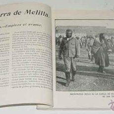 Militaria: EL ALBUM DE LA GUERRA DE MELILLA, EN EL QUE ESTAN ENCUADERNADOS LOS LIBRILLOS 5, 6 , 7 , 8 Y 9 CADA . Lote 38259332