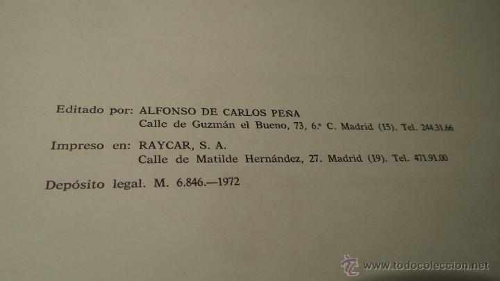 Militaria: ALBUM DE LA ARTILLERIA ESPAÑOLA 1862 - REEDICION 1972 - EDICION LIMITADA - - Foto 4 - 40890369
