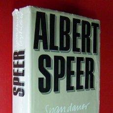 Militaria: DIARIO DE ALBERT SPEER 1975 CON SU FIRMA ORIGINAL. Lote 56359836