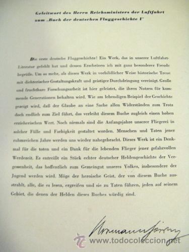 Militaria: LIBRO SECRETARIA DE ESTADO CON FIRMA AUTENTICA DE HERMANN GORING - Foto 10 - 39992344