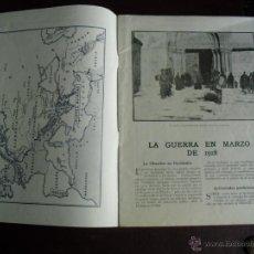 Militaria: LA GUERRA EN MARZO DE 1918 EDITADO EN LONDRES EN CASTELLANO CON MAPAS. Lote 40484771