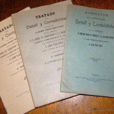 Militaria: COMPLETO TRATADO DE DETALL Y CONTABILIDAD -TOLEDO 1926-27- CON ARREGLO A DISPOSICIONES DEL EJÉRCITO. Lote 40548713