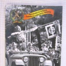 Militaria: BOLETIN INFORMATIVO DE LA HERMANDAD DE ANTIGUOS DE LEGIONARIOS DE MADRID. Lote 40587341