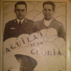 Militaria: RARISIMO AGUILAS DE LA GLORIA RECORD DEL JESUS DEL GRAN PODER AVIACION 1929. Lote 40664154
