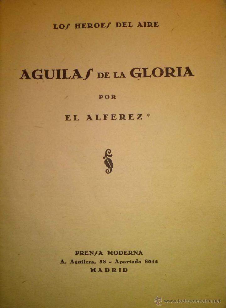 Militaria: RARISIMO AGUILAS DE LA GLORIA RECORD DEL JESUS DEL GRAN PODER AVIACION 1929 - Foto 2 - 40664154