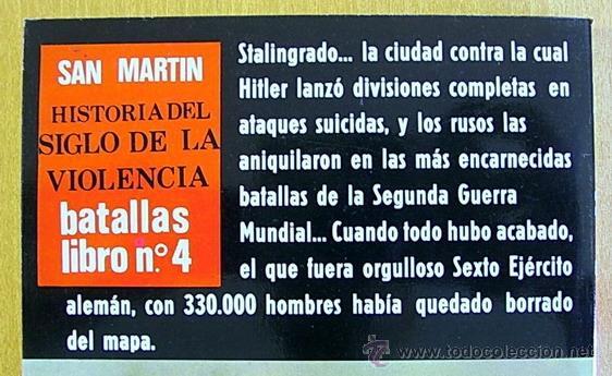 Militaria: STALINGRADO - ED. SAN MARTÍN - Foto 2 - 40765929