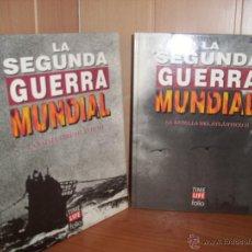 Militaria: LA SEGUNDA GUERRA MUNDIAL: LA BATALLA DEL ATLANTICO I Y II - TIME LIFE FOLIO. Lote 58259882