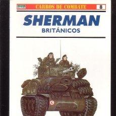 Militaria: CARROS DE COMBATE Nº 8 ( OSPREY MILITARY ). Lote 40861018