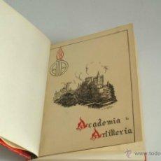 Militaria: LIBRO DE LA ACADEMIA DE ARTILLERÍA. SEGOVIA. 1950. ILUSTRADO CON MUCHAS FOTOGRAFÍAS.. Lote 41008771