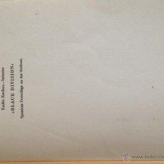 Militaria: LIBRO DIVISION AZUL EN ALEMÁN. Lote 41096722