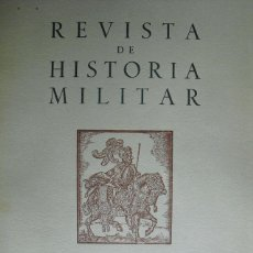 Militaria: REVISTA DE HISTORIA MILITAR Nº 33 1972 SERVICIO HISTORICO MILITAR. Lote 42405774