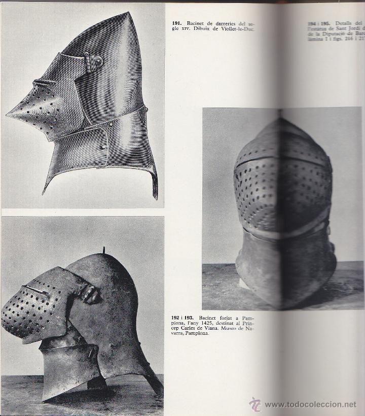 Militaria: L ARNES DEL CAVALLER - ARMES I ARMADURES CATALANES MEDIEVALS - MARTI DE RIQUER 1968 - Foto 3 - 42620282