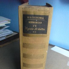 Militaria: EL GOZNE DEL DESTINO TOMO IV VOL II DE LAS MEMORIAS DE CHURCHILL 208 LÁMINAS FOTOGRÁFICAS. Lote 42679691