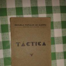 Militaria: ESCUELA POPULAR DE GUERRA, REGIÓN CATALANA, 1938, 192 PÁGINAS CON ILUSTRACIONES, REPÚBLICA. Lote 42747107