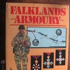 Militaria: FALKLANDS ARMOURY, BLANFORD PRESS, 1985. Lote 42824219