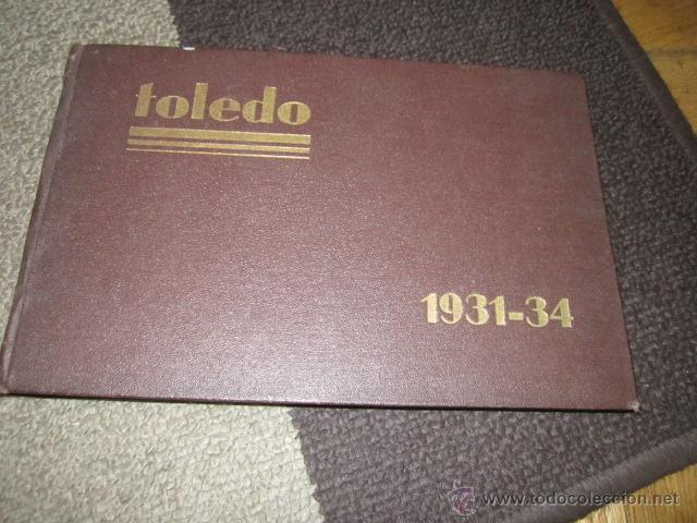ACADEMIA DE INFANTERIA DE TOLEDO PROMOCIÓN 1931 - 1934 LIBRO CON DIBUJOS Y TEXTO DE LOS CADETES. (Militar - Libros y Literatura Militar)