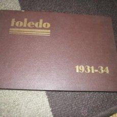 Militaria: ACADEMIA DE INFANTERIA DE TOLEDO PROMOCIÓN 1931 - 1934 LIBRO CON DIBUJOS Y TEXTO DE LOS CADETES.. Lote 42855918