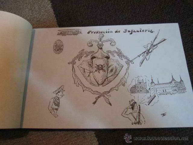 Militaria: Academia de Infanteria de Toledo promoción 1931 - 1934 libro con dibujos y texto de los cadetes. - Foto 3 - 42855918