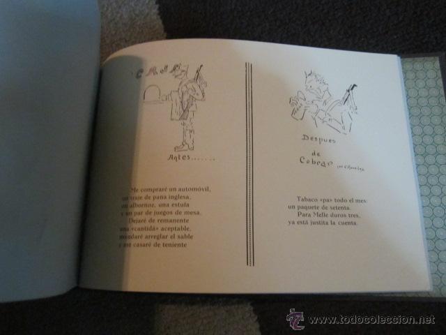 Militaria: Academia de Infanteria de Toledo promoción 1931 - 1934 libro con dibujos y texto de los cadetes. - Foto 7 - 42855918