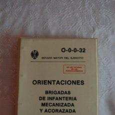 Militaria: O-0-0-32 ORIENTACIONES: BRIGADAS DE INFANTERÍA MECANIZADA Y ACORAZADA. . Lote 52134820