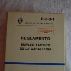 Militaria: R-2-0-1 REGLAMENTO: EMPLEO TÁCTICO DE LA CABALLERÍA.. Lote 163151428